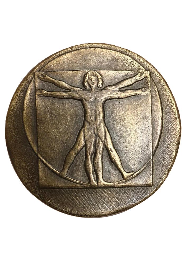 leonardo-da-vinci-retro-medaglia-bronzo